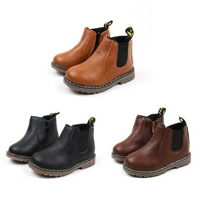 Winter Children kids Ankle Boots Baby Shoes Toddler Boys Girls Boots size 21-25
