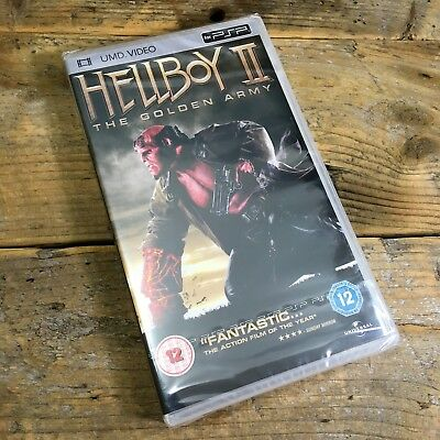 Hellboy 2 - The Golden Army (UMD, 2009) NEW - Official PSP Seal - RARE