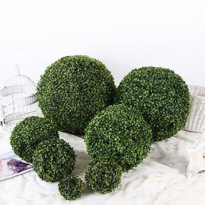 Fashion Artificial Plant Ball Tree Boxwood Wedding Event Home Outdoor Decor SALE
