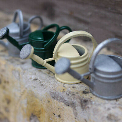1:12 Metal Dollhouse Miniature Watering Can Handicrafts Model Dollhouse Toys