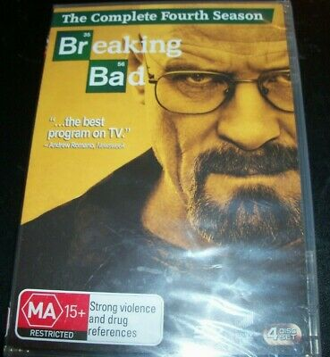 Breaking Bad The Complete Fourth Season Four 4 (Australia Region 4) DVD – New