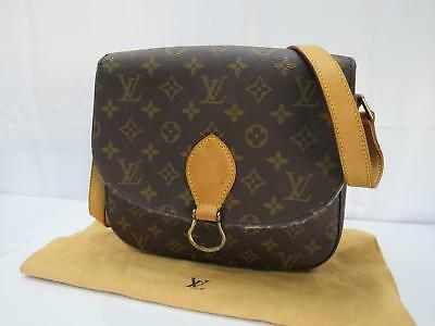 b83e54c26977 Auth Louis Vuitton Monogram Saint Cloud GM Cross Body Shoulder Bag  8C240050n