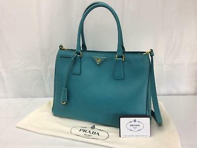 VINTAGE PRADA LARGE camel tan top grain Cervo leather tote shoulder ... 846e5d6f390ce