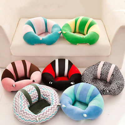Baby seats sofa support chair learning to sit soft plush toy seat without filler