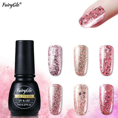 Fairyglo Smalto Semipermanente Per Unghie Gel Uv Soakoff Brillante