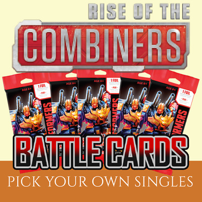 Transformers TCG Singles (WAVE 2 Battle Cards RISE OF THE COMBINERS)