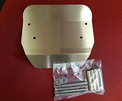 Bmw r1200gs and r9t engine guard crud catcher