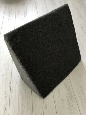 Grey Bed Wedge Cushion Back Rest Upright Support Orthopaedic Pillow Acid Reflux