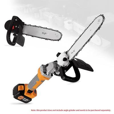 "HOT 11.5"" Electric Chainsaw Stand Bracket Set Woodworking Cutting Polishing Tool"