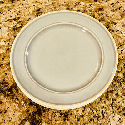 """Pearl Gray Rustic Country 7/"""" Melamine Soup or Salad Bowls Set of 4"""