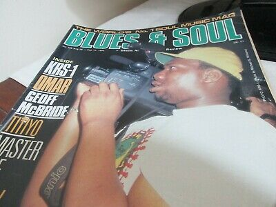 blues and soul magazine issue 568 aug 1990