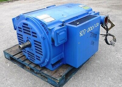 600 Hp Siemens Electric Motor 3600 Rpm 508s 509s Frame Dp 4160