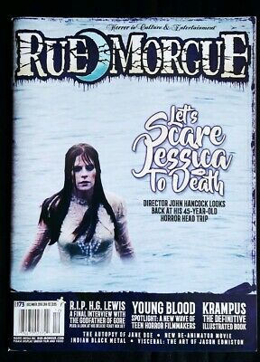 Rue Morgue #173 December 2016 Let's Scare Jessica To Death Young Blood Krampus