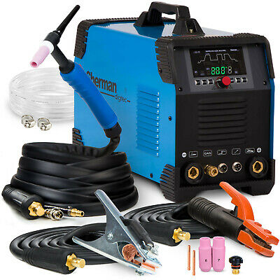 TIG Welder AC/DC Stick welding machine Professional MMA Alu SHERMAN MULTIPRO