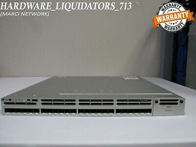 CISCO WS-C3850-24S-E WITH (1) PWR 350WAC supply SFP IP Services (FAST  SHIPPING)*