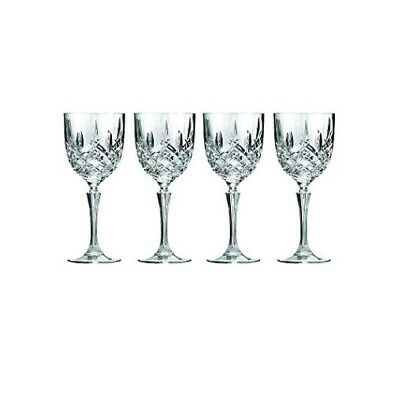 """Waterford Markham 8.7"""" Crystal Wine Glass, Set of 4  New/ Gift Box- Lead Free"""