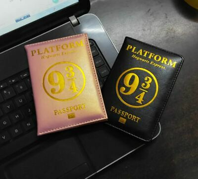 Popular Harry Potter Hogwarts Passport Cover PU Travel FREE SHIPING Passport