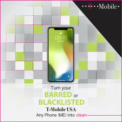 T-MOBILE USA IMEI Unblocking/Unbarring Service - All Brands