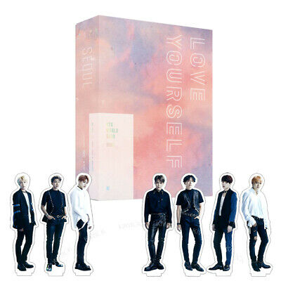 [Pre-order] BTS WORLD TOUR LOVE YOURSELF SEOUL DVD Package + Paper Standing Doll