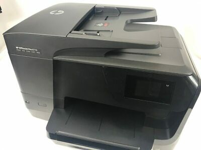 Hp Officejet Pro 8710 All In One Printer Copy Scan Fax 9999