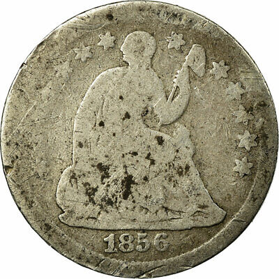 [#513538] Coin, United States, Seated Liberty Half Dime, Half Dime, 1856