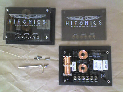 CROSSOVER HIFONICS ZEUS for 4 ohm impedance, cut 3 Khertz, 12dB slope, 125 Watt
