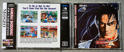 Manuals & Guides 1994 Neo Geo Mvs Samurai Shodown Ii Artworks Collectibles