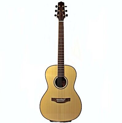 "Takamine G Series Parlor Acoustic Guitar; Natural Finish, Model ""GY93"""