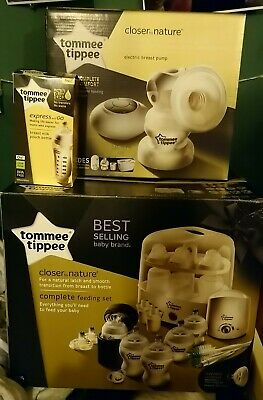 Tommee Tippee Closer to Nature Electric bundle (steriliser,breast pump&warmer)+