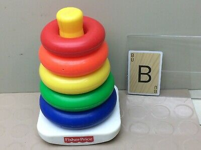 Vintage  Fisher Price Rock-a-Stack Baby Toy