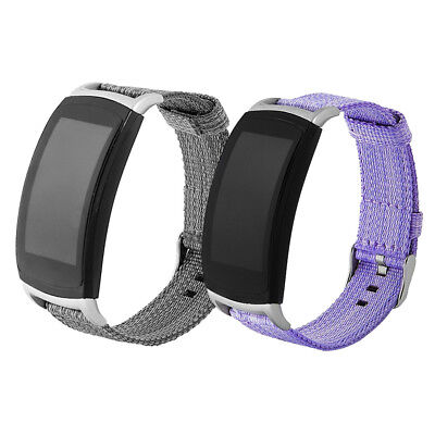 Replacement Nylon Weave Strap Wristband Watch Band For Samsung Gear fit 2 / PRO