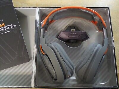 ASTRO Gaming A40 Headset + Mixamp M80 - Dark Grey/Orange - Xbox One 2014 model