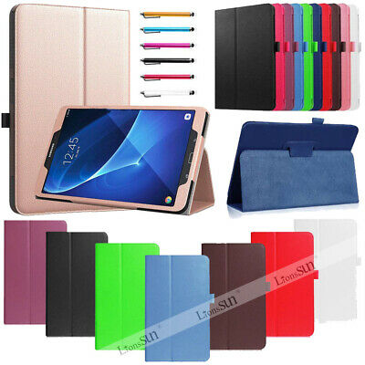 For Samsung Galaxy Tab A 7.0 A6 10.1 SM-T580 T585  T280 Leather Smart Case Cover