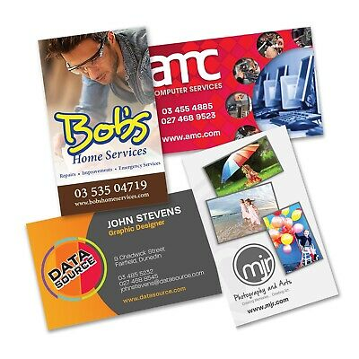 250 x Business Cards Printed Bulk Gifts Promotion Business Merchandise