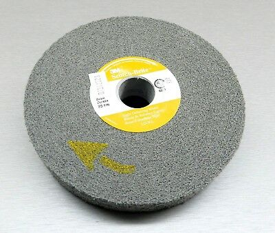 3M 8S FIN Light Deburring Wheel Fine Scotch-Brite Silicon Carbide 6x1x1 8s LD-WL