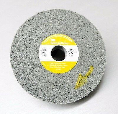 "3M Scotch-Brite™ 7S Fin Light Deburring Wheel Fine Silicon Carbide 6"" x1x1 LD-WL"