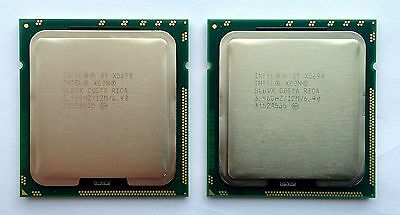 Matched Pair Intel Xeon X5680 x 2 SLBV5 CPU Hex 6 Core 12M Cache 3.33GHZ server