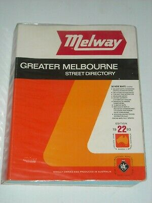 MELWAY Edition 22 1993 Street Directory Greater Melbourne