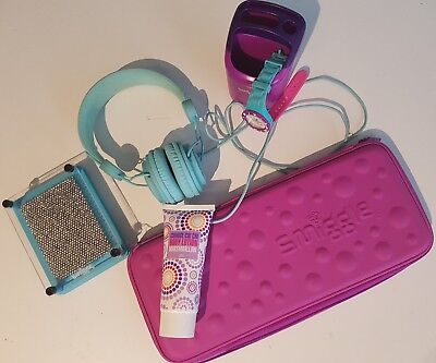SMIGGLE Pencil Case ~ Headphones ~ Watch ~ Blue Purple Pink ~CHI CHI Body Lotion
