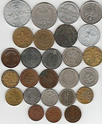 26 different world coins from WEST GERMANY
