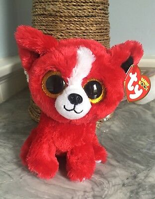 49d0728edd6 Ty Beanie Boos Tomato The Red Dog Gift Show Exclusive Mint With Tags Big  Eyes