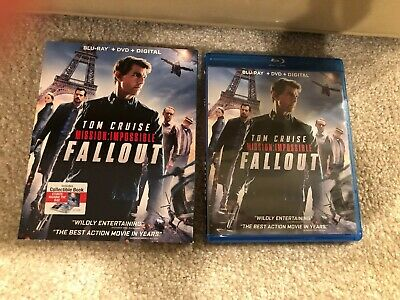 Mission Impossible Fallout Bluray 2DiscSet(Feature + SpecialFeatures)-No Digital