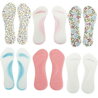 Silicone Gel Arch Support Insoles Plantar Fasciitis High Heel Spur Cushions