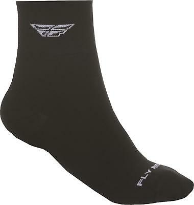 Fly Racing Shorty Sock Black/white L/x 350-0380L