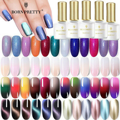 BORN PRETTY 6ml UV Gel Nail Art Semi Permanent Vernis à ongles Multiple Manucure