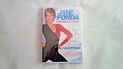 DVD Jane Fonda - Prime Time Fit & Strong - New Sealed