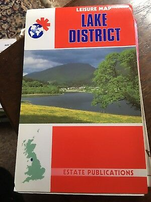 Local Leisure Map: Lake District (Local leisure maps), , Used; Good Book