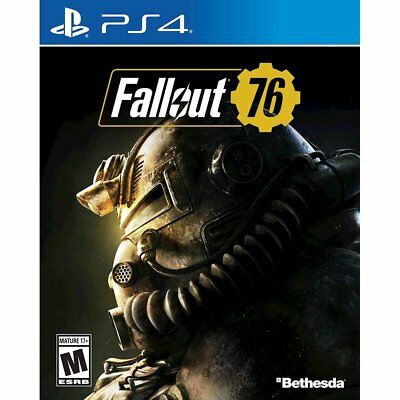Brand New! Fallout 76 - for Playstation 4 (PS4) Factory Sealed!