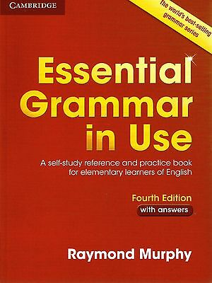 Cambridge  ESSENTIAL GRAMMAR IN USE with Answers FOURTH Edition I Murphy @NEW@