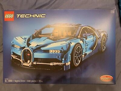 Retail Boxinstructions Only No Car Included Lego Technic Bugatti